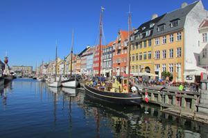 Beautiful Nyhavn in Copenhagen